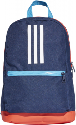 Adidas 3 Stripes Kinder Rucksack collegiate navy-active red 11 x 22 x 35cm