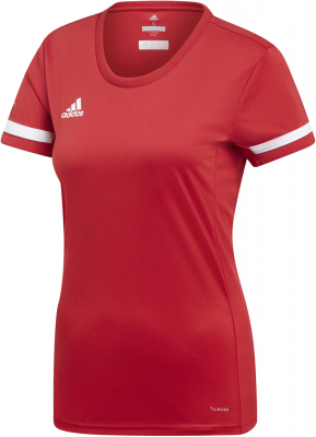 Adidas Team 19 Damen Trikot power red-weiß 2XL