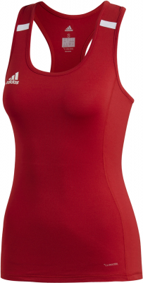 Adidas Team 19 Damen Tank power red-weiß 2XS