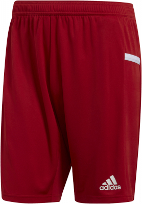 Adidas Team 19 Herren Knit Shorts power red-weiß