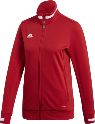 Adidas Team 19 Damen Trainingsjacke power red-weiß