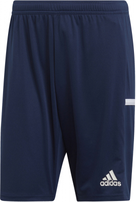 Adidas Team 19 Herren Knit Shorts navy blue-weiß M