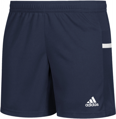 Adidas Team 19 Damen Knit Shorts navy blue-weiß