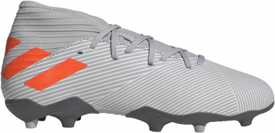 Adidas Nemeziz 19.3 FG Kinder Fußballschuh grey two-orange 38