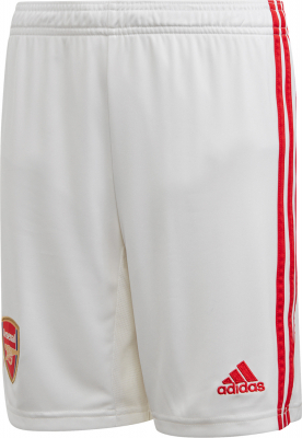 Adidas FC Arsenal London Kinder Heim Shorts 2019/20 weiß-rot