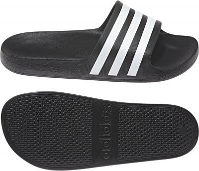 Adidas Aqua Adilette core black-ftwr white-core black 47 1/3