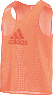 Adidas Training BIB 14 Markierungshemdchen glow orange S
