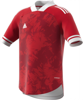 Adidas Condivo 20 Kinder Trikot team power red-weiß