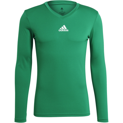 Adidas Herren Langarm Base Shirt Team grün