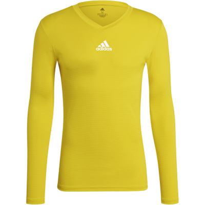 Adidas Herren Langarm Base Shirt Team gelb