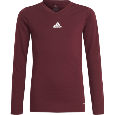 Adidas Kinder Langarm Base Shirt Team rot 164