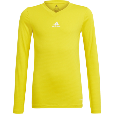 Adidas Kinder Langarm Base Shirt Team gelb