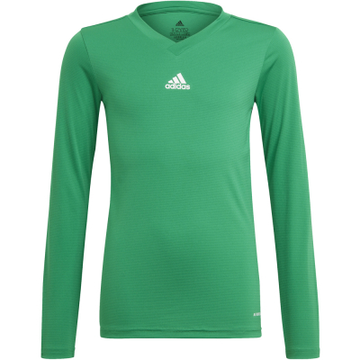 Adidas Kinder Langarm Base Shirt Team grün 164