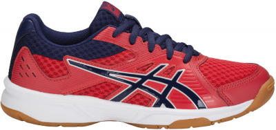 Asics Upcourt 3 GS Kinder Hallenschuh red alert-indigo blue