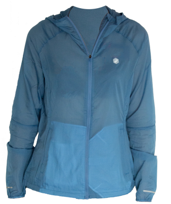 Asics Packable Damen Laufjacke azure