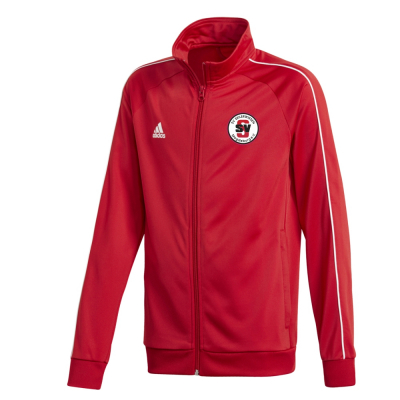 SV Seilerwiesen Adidas Core 18 Kinder Polyesterjacke pwr red 140