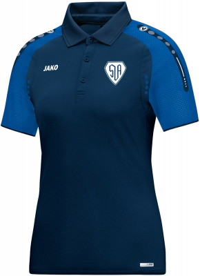 SV Amerang Jako Champ Damen Polo marine-royal 42-44