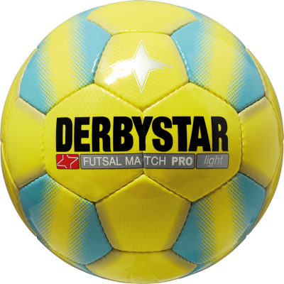 Derbystar Match Pro Light Futsal-Ball Gr. 4 gelb-blau