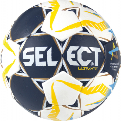Select Ultimate CL Women Handball Gr. 2 blau-weiß-gelb 2