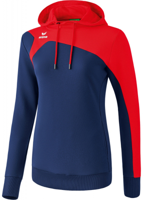 Erima Club 1900 2.0 Damen Kapuzensweat new navy-rot