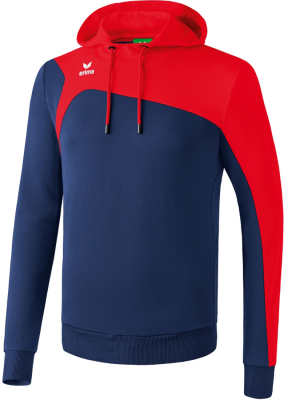 Erima Club 1900 2.0 Kapuzensweat new navy-rot 3XL