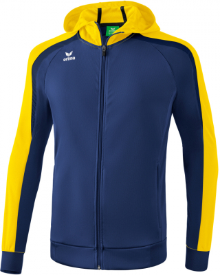 Erima Liga 2.0 Trainingsjacke mit Kapuze new navy-gelb