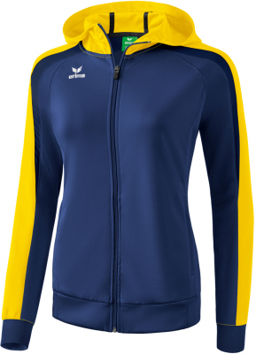 Erima Liga 2.0 Damen Trainingsjacke mit Kapuze new navy-gelb