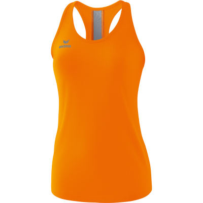Erima Damen Tank Top Squad orange-grau