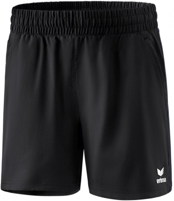 Erima Premium One 2.0 Damen Shorts schwarz