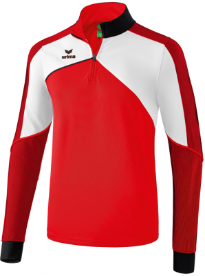 Erima Premium One 2.0 Trainingstop rot-weiß-schwarz