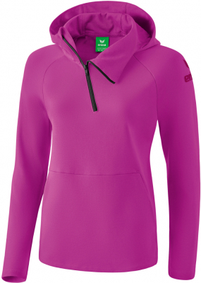 Erima Essential Damen Hoodie fuchsia-purple potion
