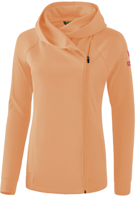 Erima Essential Damen Kapuzensweatjacke peach-love rose