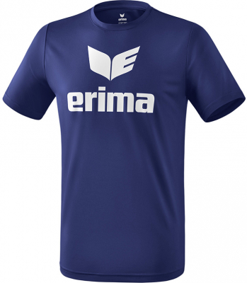 Erima Funktions Promo T-Shirt new navy-weiß 140