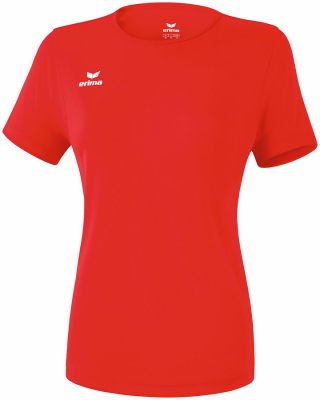 Erima Funktions Teamsport Damen T-Shirt rot