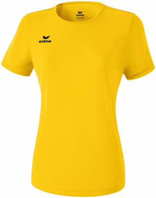 Erima Funktions Teamsport Damen T-Shirt gelb