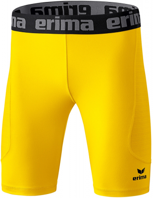 Erima Elemental Tights kurz gelb