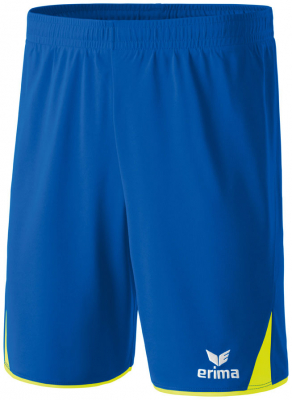 Erima 5-CUBES Shorts new royal-neon gelb