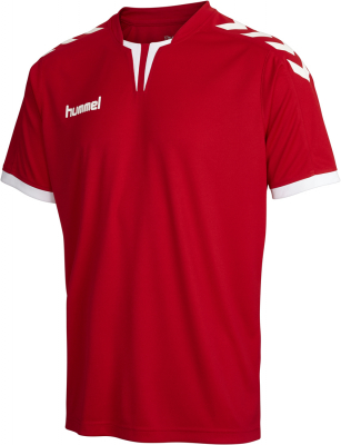 Hummel Core Poly Trikot true red pro