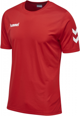 Hummel Core Polyester T-Shirt true red 164-176