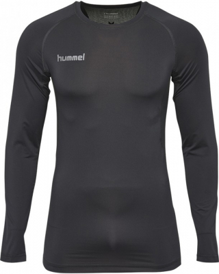 Hummel First Performance Kompression LA-Shirt schwarz