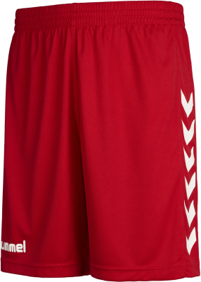 Hummel Core Poly Shorts true red pr