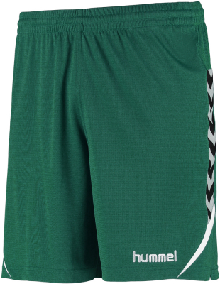 Hummel Authentic Charge Poly Shorts evergreen