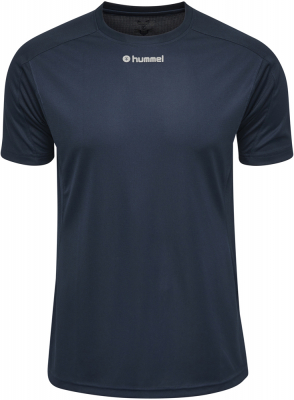 Hummel Runner Kurzarm T-Shirt total eclipse