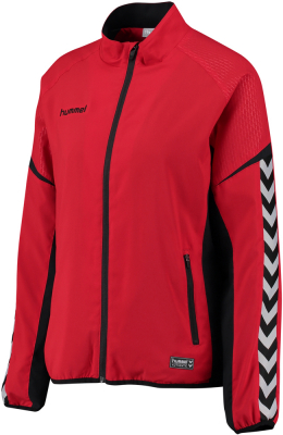 Hummel Authentic Charge Damen Präsentationsanzug true red