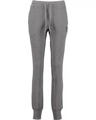 Hummel Classic Bee Damen Glen Pants dark grey melange S