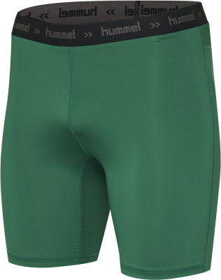 Hummel First Performance Short Tights evergreen-weiß M