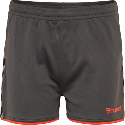 Hummel Authentic Damen Poly Shorts asphalt
