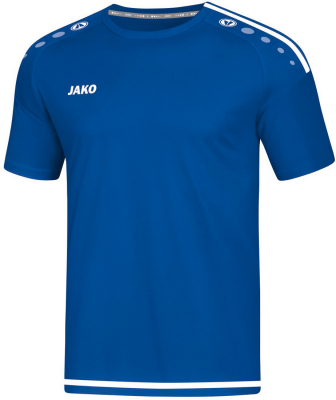 Jako Striker 2.0 Kurzarm Trikot royal-weiß