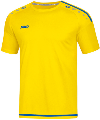 Jako Striker 2.0 Kurzarm Trikot citro-royal
