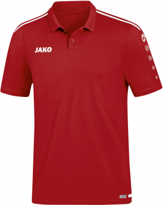 Jako Striker 2.0 Polo chili rot-weiß